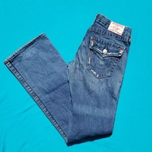 True Religion Billy Jeans Factory Distressed Sz 27
